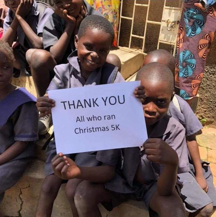 Thank you from Africa
