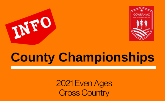 Even Age Cross Country Championships 2021