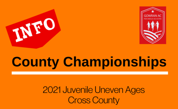 Uneven Age Cross Country Championships 2021